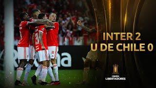 Internacional vs. U. de Chile [2-0] | GOLES | Fase 2 (Vuelta) | CONMEBOL Libertadores 2020