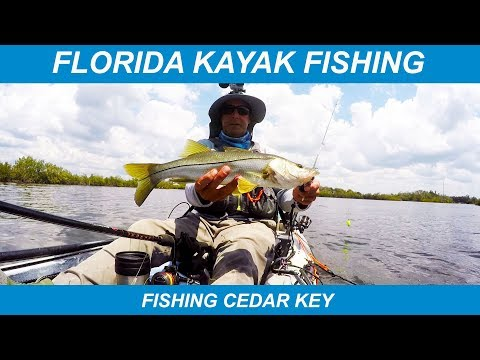 Florida Kayak Fishing – Fishing Cedar Key