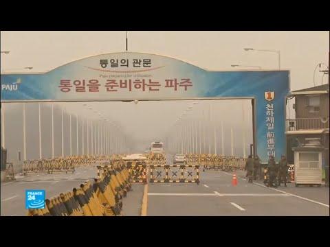 محادثات بين الكوريتين حول مشاركة فنانين من الشمال في الألعاب الأولمبية بالجنوب  - نشر قبل 19 ساعة