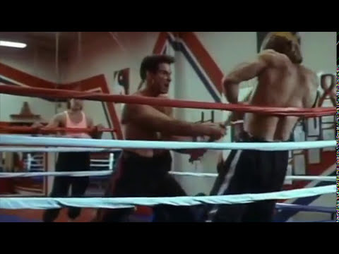 """Pure Fight Scenes: Don """"The Dragon"""" Wilson, Gary Daniels (2) """"Ring of Fire"""" (1991) Vince Murdocco"""