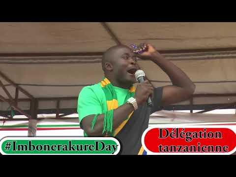 """#Burundi Délégation tanzanienne à #ImbonerakureDay: """"Jeunes = Gardiens du pays et du parti"""""""