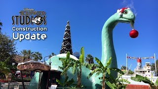 Hollywood Studios Construction Update: Christmas, Star Wars, Toy Story, Grand Avenue & Mickey Ride
