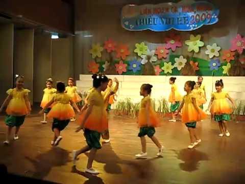 """múa """"Cánh đồng quê em"""" - NTNq10"""