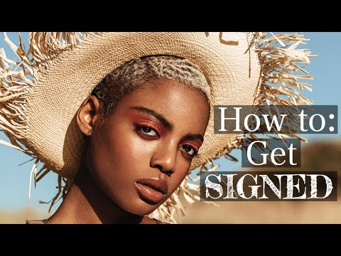 How To: Sign To A MAJOR Modeling Agency (Elite) FOR BEGINNERS!