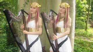 SAINT SEIYA Medley (Harp Twins electric) Camille and Kennerly