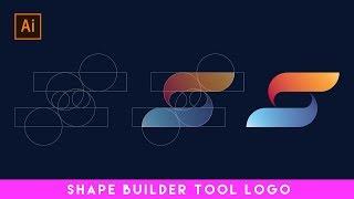 Shape Builder Tool Logo Design In Illustrator