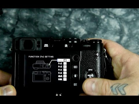 New Fujifilm X100F Custom settings tips & information on function buttons