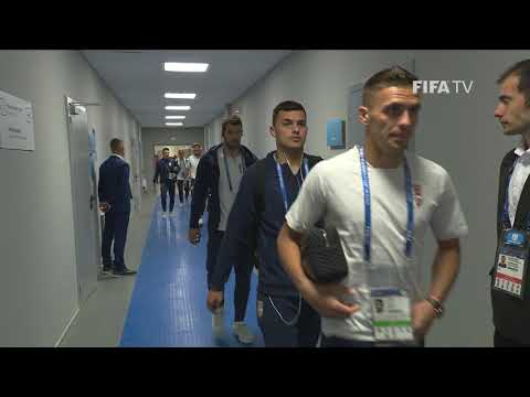 SERBIA ARRIVE - MATCH 10 @ 2018 FIFA World Cup™