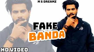 Fake Banda - Singga (  Song) | Latest Punjabi Song 2019