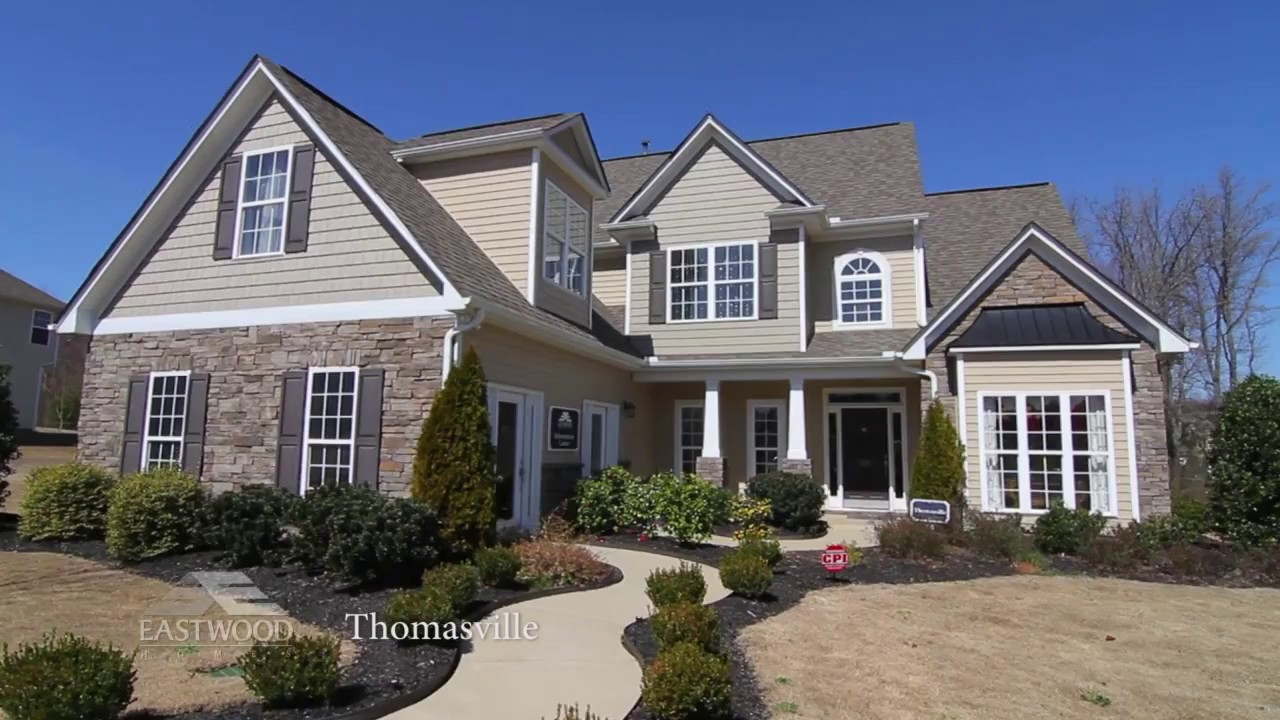 New Homes In Greenville Sc The Thomasville By Eastwood
