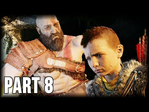 God of War - 100% Walkthrough Part 8 [PS4] –The Light of Alfheim (1/3)