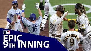 Dodgers and Padres exchange runs in EPIC 9th inning!