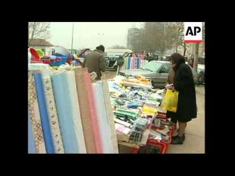 Serbs in ethnically divided town prepare to vote in election