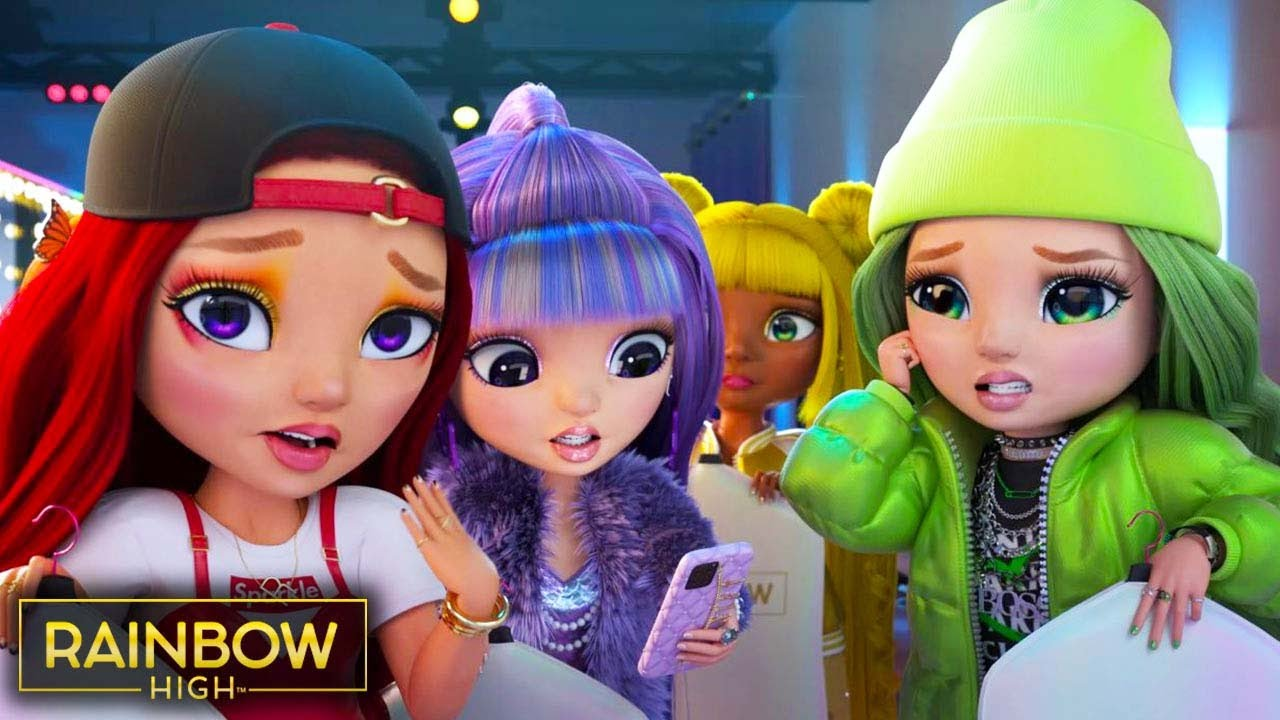 Fashion Show Finale! 💃🏻✨🌈 | Season 1 Episodes 17 & 18 | Rainbow High Compilation