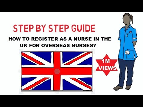 Register As A Nurse In The UK For Overseas Nurses, The Best Guide In YouTube