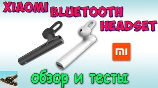 Гарнитура Xiaomi Mi Bluetooth Headset  LYEJ02LM ♦ Распаковка и Обзор