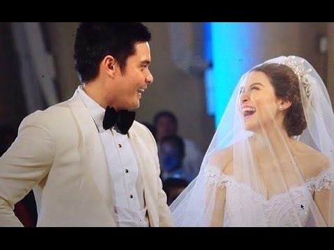 Marian Dingdong Wedding VIDEO - Wedding Kiss - YouTube