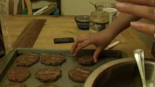 How To: Gluten Free Almond Butter Cookies!