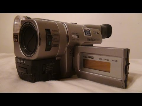 1999 Sony Handycam CCD TRV 37 Review