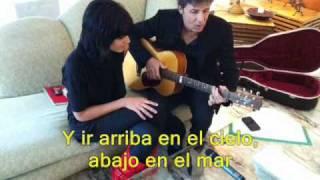 Download Fino in fondo - ESPAÑOL! Luca Barbarossa e Raquel Del Rosario (Sanremo 2011) MP3 song and Music Video