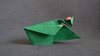 Origami:  Catapult