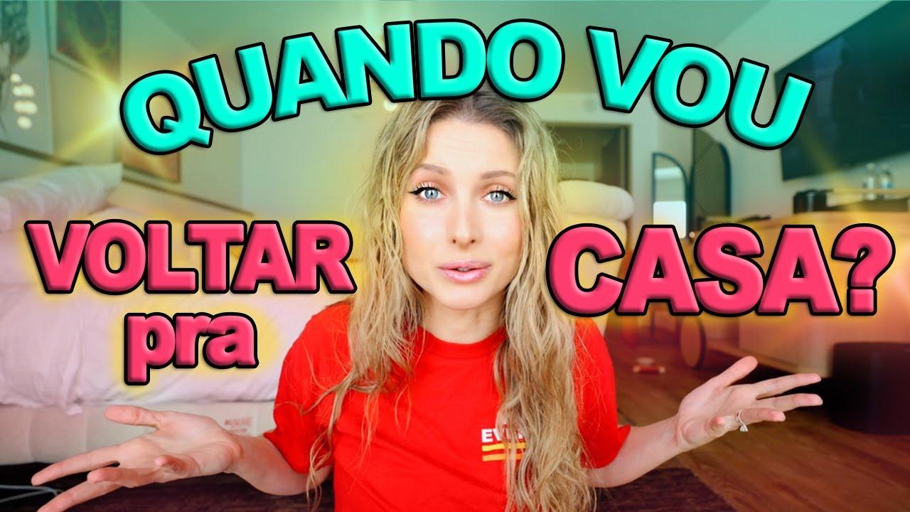 VAMOS PODER VOLTAR PRA CASA HOJE?? + ROLÊ PELO HOTEL!!