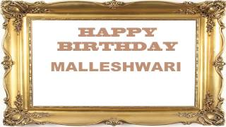 Malleshwari   Birthday Postcards & Postales - Happy Birthday