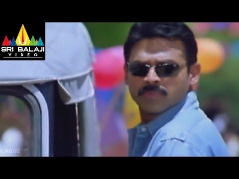 Gharshana Movie Asin and Venkatesh at School | Venkatesh, Asin | Sri Balaji Video