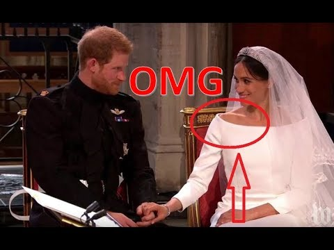 Megan And Harry Wedding.Mistakes In Harry Megan Wedding