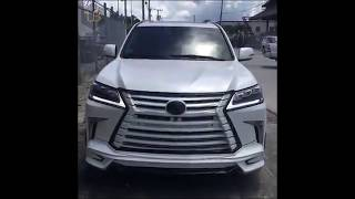 lexus LX 570 2017- 2018 first look / Fully Modified Lexus lx 2018