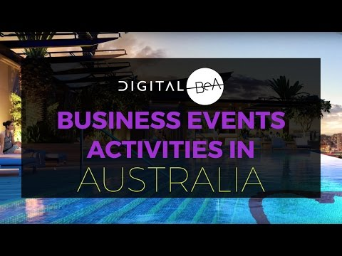 Biz Events Asia update: Business Events Activities in Australia - January 2017
