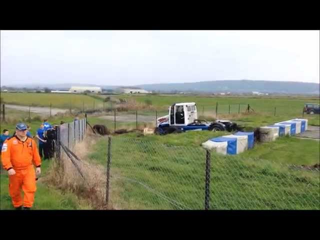 BTRA Crash - Adam Bint - Pembrey