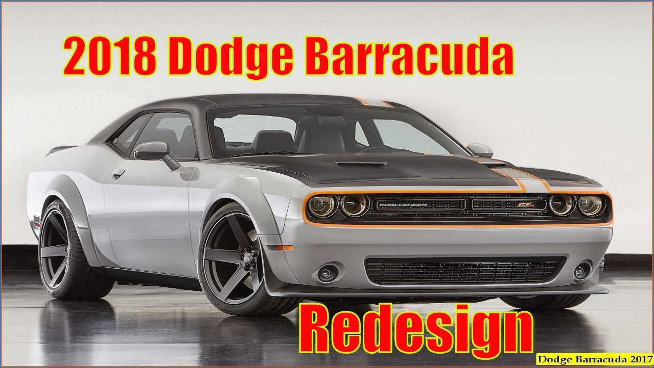 Dodge Barracuda 2018 2017 Dodge Barracuda Redesign Interior