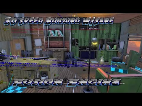 Building A 3D Apartment | City & Hallway SpeedBuild On Fusion Engine