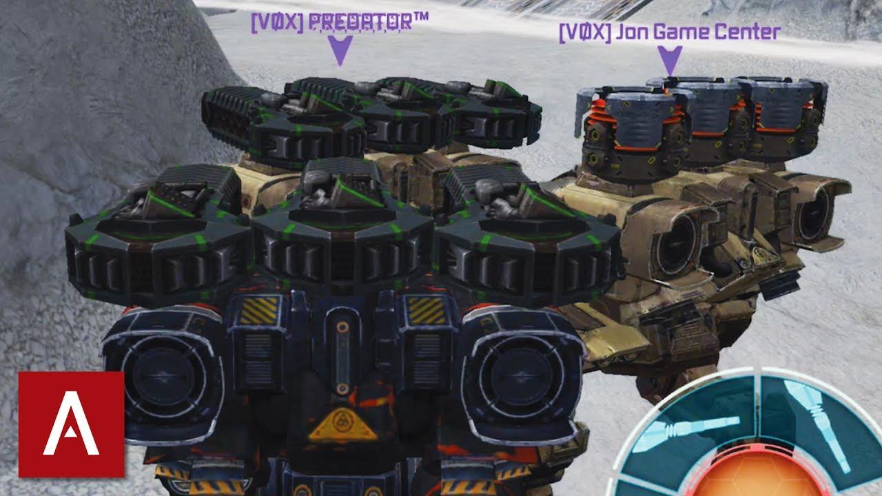 thunder war robots
