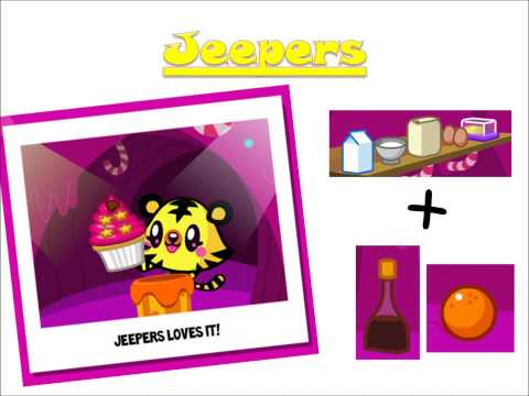 Moshi Monsters - Cupcake cavern - How to get them ALL !