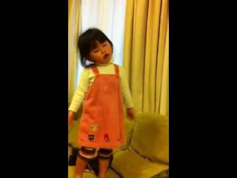 Aichan sings Ponyo song