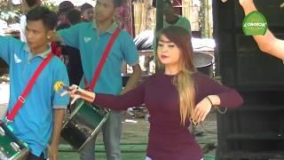 Dancer Cantik AUREL Dengan Tampilan Baru Live Di Desa Sesaot Di Iringi Kecimol NIRWANA