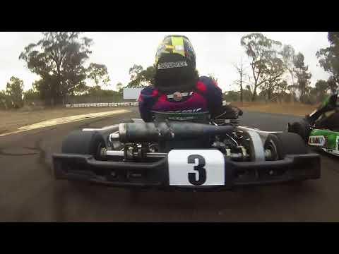 2017 Southern Stars Series- Round 4 - Lincoln County Raceway -  Dubbo - KA4 Junior Heavy