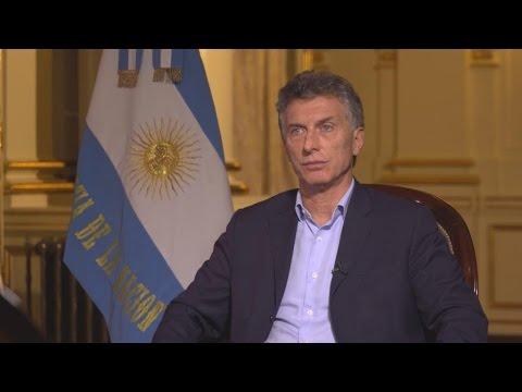 Entretien à Mauricio Macri