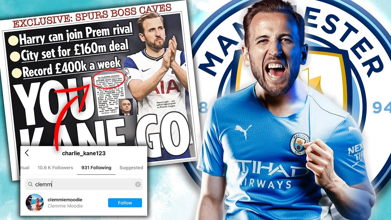 """""""HARRY KANE AGREES £160m MANCHESTER CITY MOVE"""" - Transfer Rumour INVESTIGATED!   #WNTT"""