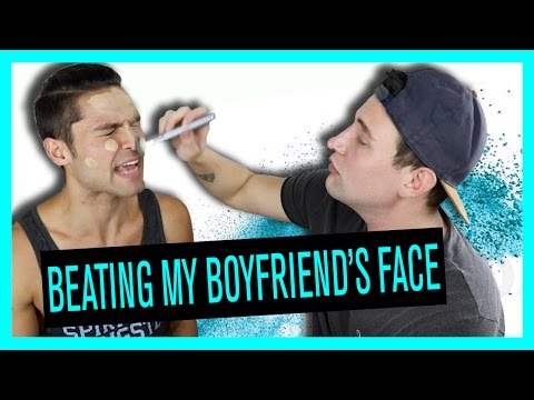 BEATING MY BOYFRIENDS FACE | Alx James