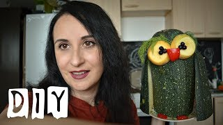 DIY. Поделки из овощей и природных материалов  для детского сада (iшколы)