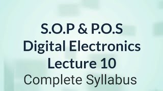 Sum of Product & Product of Sum in Hindi | Digital Electronics | Lecture 10