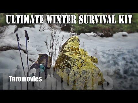 Ultimate Winter Survival Kit HD Bushcraft Survival Video