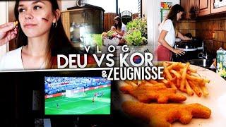 Fußball WM, Zeugnisse, Realtalk | VLOG | CuzImSara