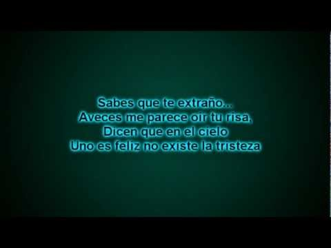 VIDEO: La Liga - Entre El Cielo Vos y Yo - Letra
