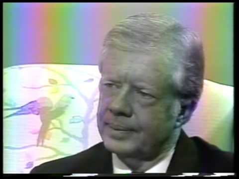 News - CBS Edwin Newman Interviews US President Jimmy Carter On Boycott Of 1980 Moscow Olympics