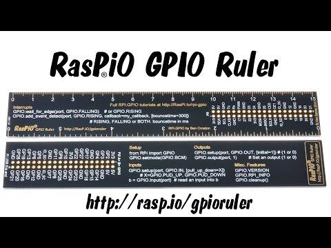 RasP iO | gpioruler