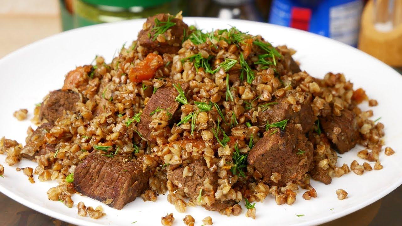 Гречка с мясом. ПЛОВ из ГРЕЧКИ, цыганка готовит. Gipsy cuisine.